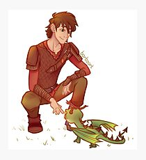 Terrible Terror - Hiccup (HTTYD) Photographic Print