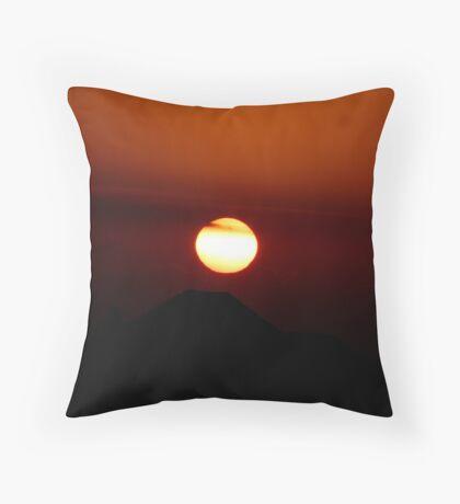 SUN SET Throw Pillow