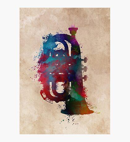 tuba art #tuba #music Photographic Print