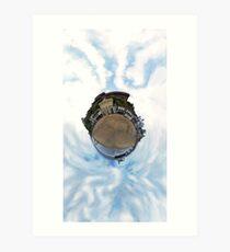 Tiny Planet - Bournemouth UK Art Print