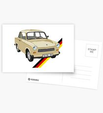 Trabant Postcards