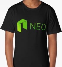 Neo Cryptocurrency Long T-Shirt