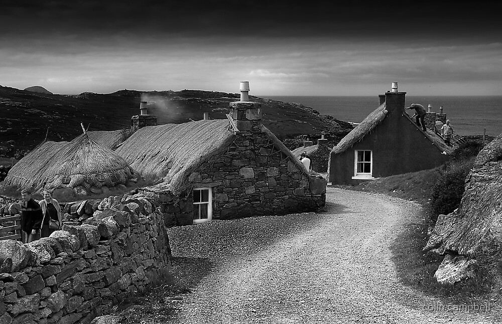 Na Gearrannan by colin campbell