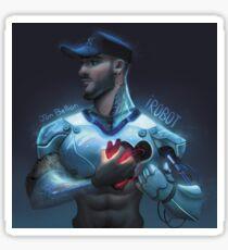 Jon Bellion iRobot Sticker