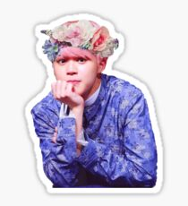 Flower Crown Bae Jimin BTS Sticker