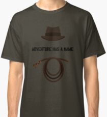 Indiana Jones - Adventure Has a Name Classic T-Shirt