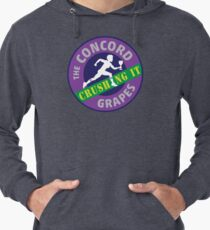 Concord Grapes - Crushing It Lightweight Hoodie