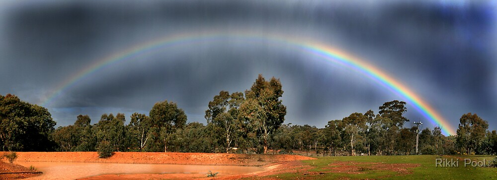 Somewhere over the Rainbow by Rikki  Pool