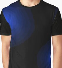 Blue glow fade Graphic T-Shirt