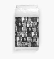 Patrick Swayze Sticker Duvet Cover