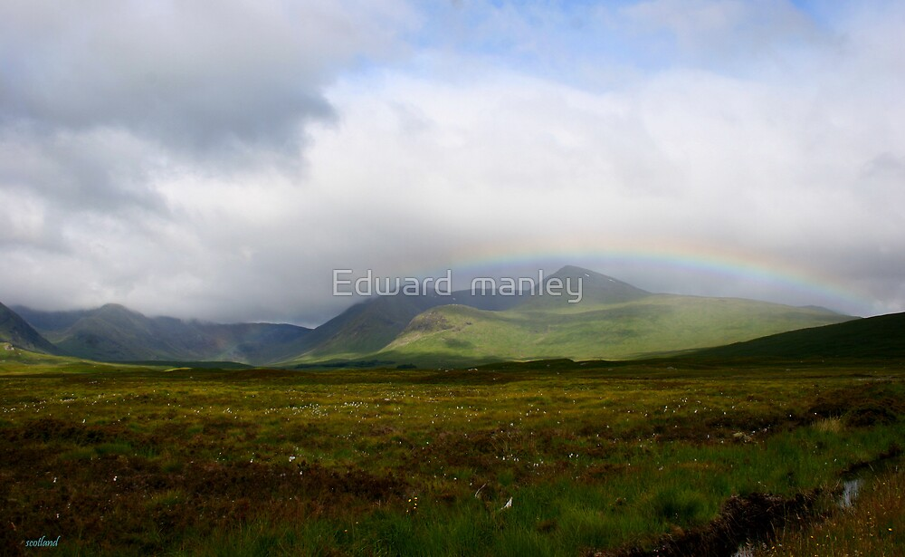 scottish landscapes by Edward  manley