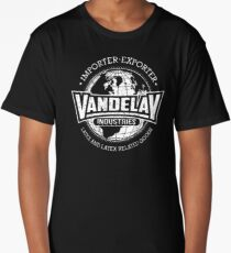 Vandelay Industries (white) Long T-Shirt