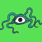 Monster Eye - fun Halloween design by Cecca Designs by Cecca-Designs