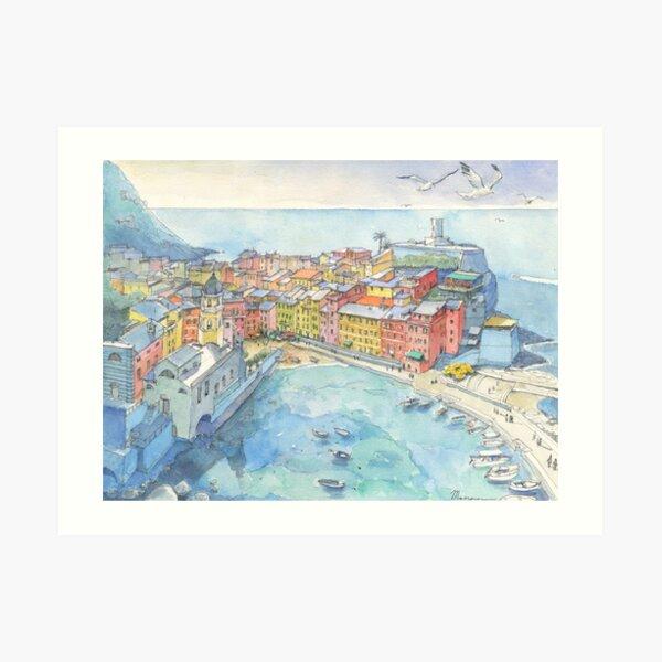 Vernazza, Cinque Terre Art Print