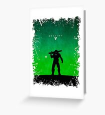 Space Shooter Greeting Card