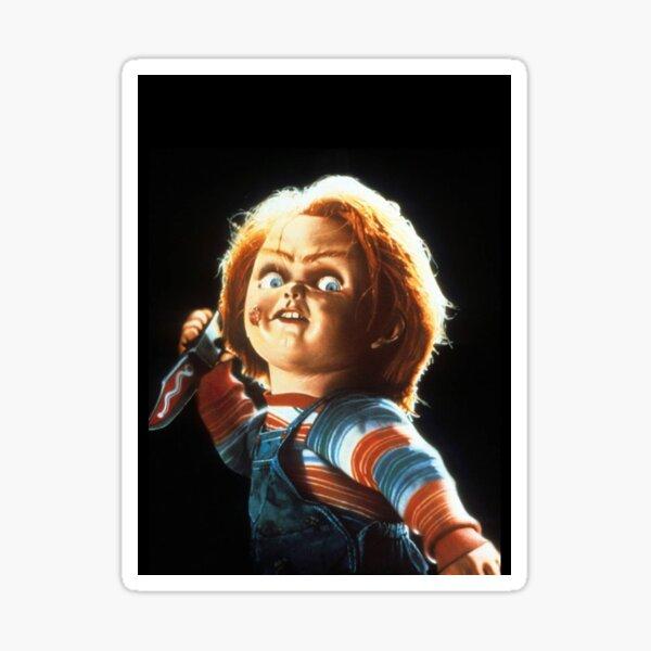 Chucky Pegatina