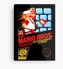Super Mario Bros Metal Print
