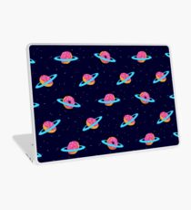 Sugar rings of Saturn Laptop Skin