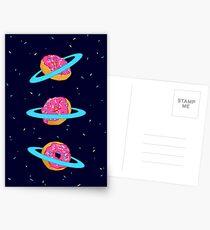 Sugar rings of Saturn Postcards