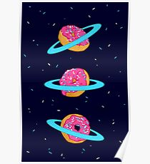 Sugar rings of Saturn Poster