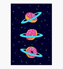 Sugar rings of Saturn Photographic Print