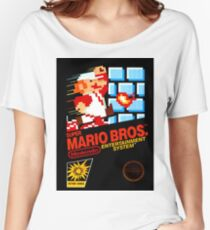 Super Mario Bros Women's Relaxed Fit T-Shirt
