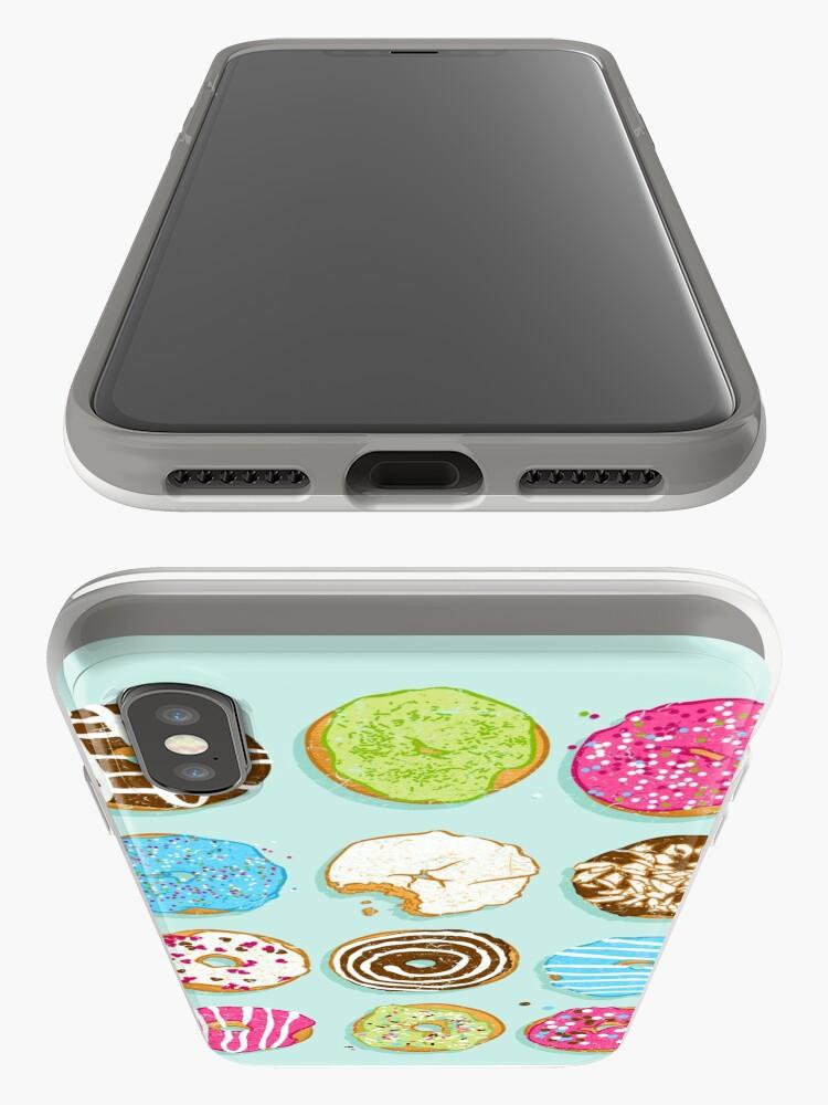 Alternative Ansicht von Süße Donuts iPhone-Hülle & Cover