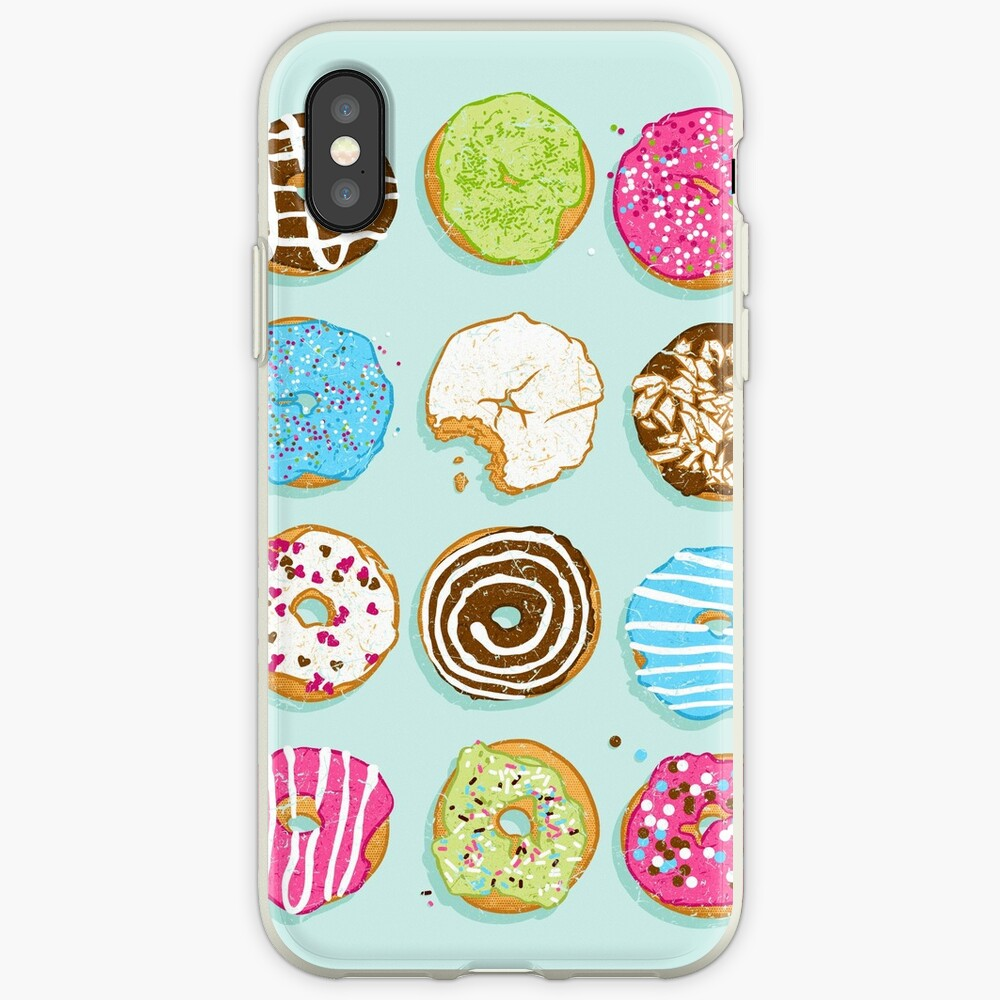 Süße Donuts iPhone-Hülle & Cover