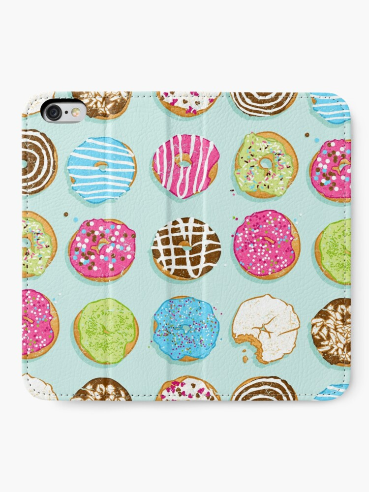 Alternate view of Sweet donuts iPhone Wallet