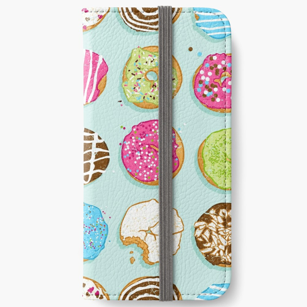 Süße Donuts iPhone Flip-Case