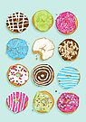 Sweet donuts by Evgenia Chuvardina