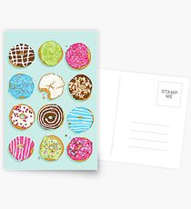 Sweet donuts Postcards