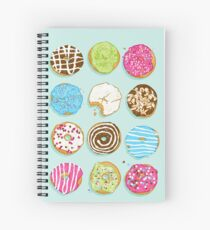 Sweet donuts Spiral Notebook