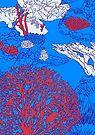 Coral reef by Evgenia Chuvardina