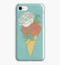 Rose ice cream iPhone Case/Skin