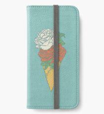 Rose ice cream iPhone Wallet/Case/Skin