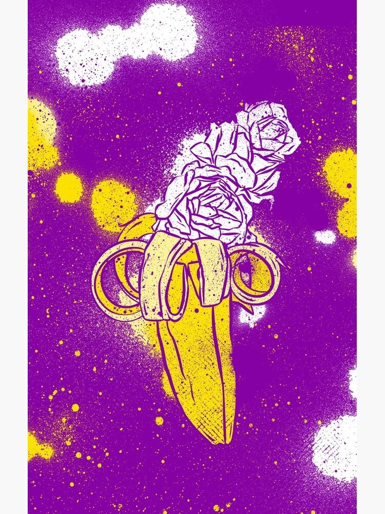 floral banana by Chuvardina