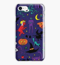 Retro Halloween iPhone Case/Skin
