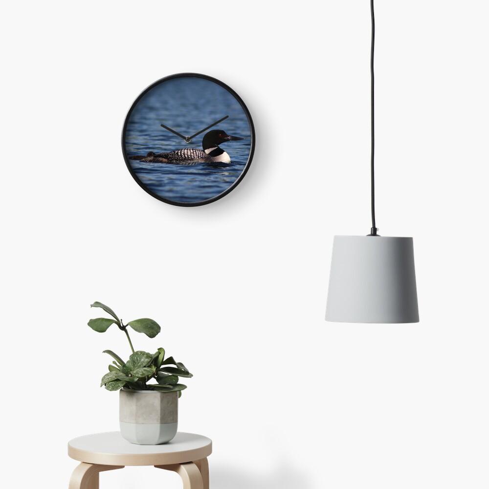 Common Loon Clock