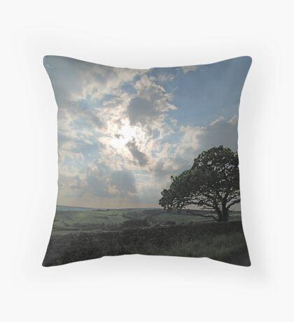 same tree different angle Throw Pillow
