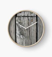 Lunenburg Dock Planks Clock