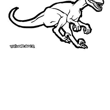 Velociraptor 2 by howyadoin