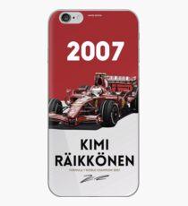 Kimi Raikkonen iPhone Case