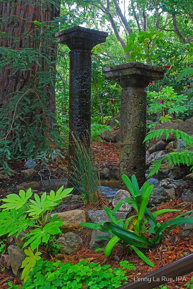 pillar fountain by Lenny La Rue, IPA