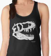 T-Rex Skull Women's Tank Top