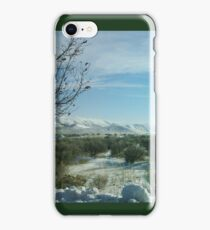 Blue Sky, Sage Brush and Snow iPhone Case/Skin
