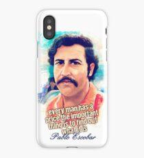 Pablo Escobar Price iPhone Case/Skin