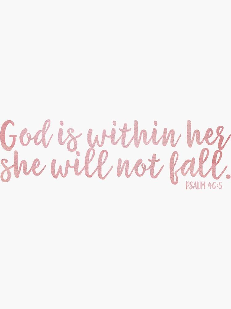«Christian Quote Aquarelle» par walk-by-faith