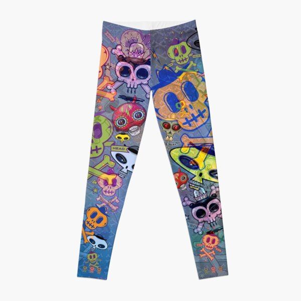Skull Leggings Unisex Leggings