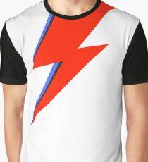 Aladdin Sane Lightning Flash  Graphic T-Shirt